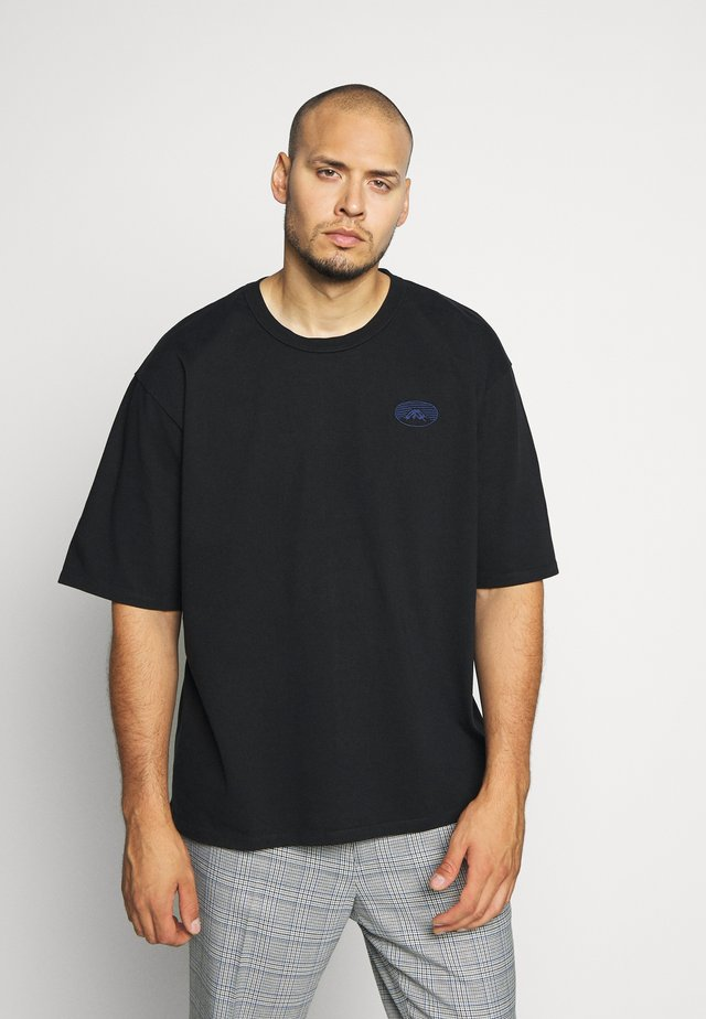 FUJI SAN - T-shirts basic - black