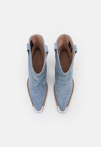 Bronx - NEW KOLE - High heeled ankle boots - retro blue - 5