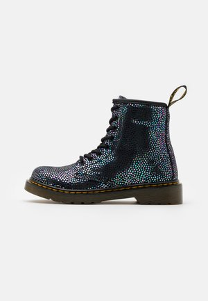 1460 SPOT METALLIC - Veterboots - iridescent black