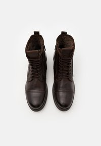 Jack & Jones - JFWRUSSEL WARM  - Lace-up ankle boots - brown stone - 3
