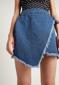 Tezenis - Wrap skirt - blu jeans - 0