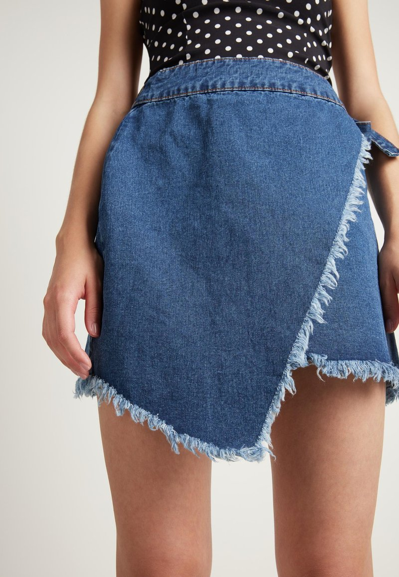 Tezenis - Wrap skirt - blu jeans