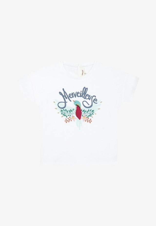 3DMARVELLOUS - T-shirt con stampa - white