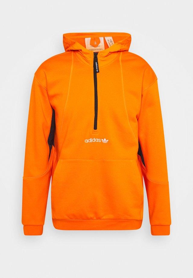FIELD HOODY - Hoodie - orange
