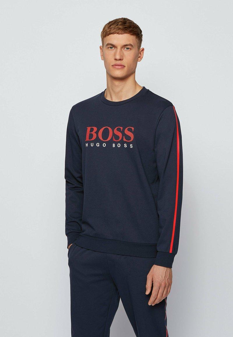 BOSS - AUTHENTIC - Sweatshirt - dark blue