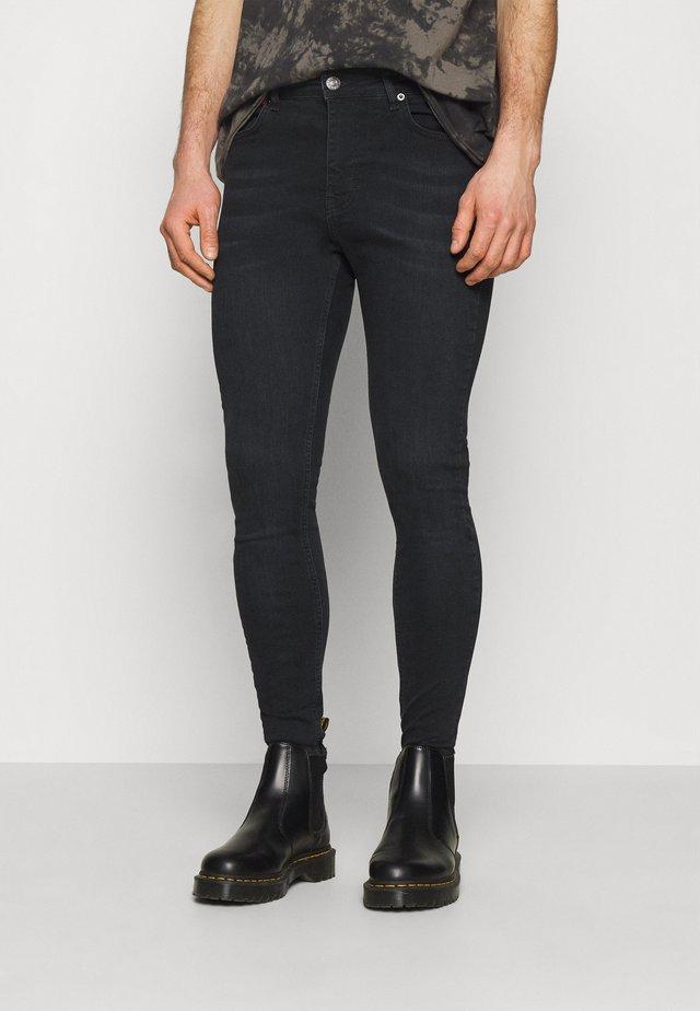 Jeans Skinny - washed black