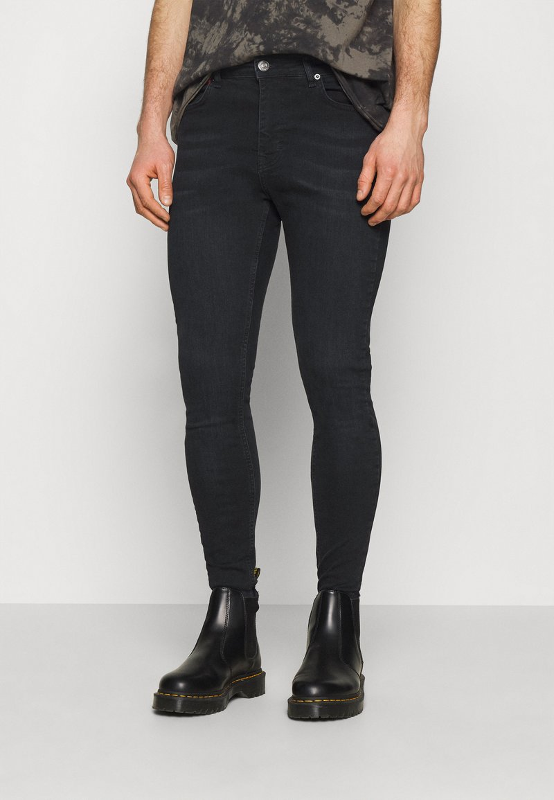 11 DEGREES - Jeans Skinny Fit - washed black