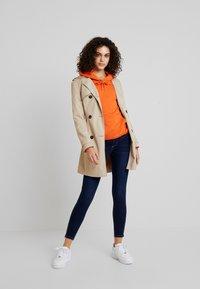 Pieces - PCJAMIE ZIP - Jeans Skinny Fit - dark blue denim - 1