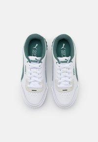 Puma - CARINA LIFT - Sneakers laag - white/blue spruce - 5