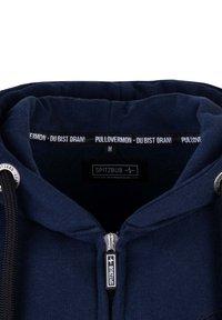Spitzbub - LENNY - Zip-up sweatshirt - blau - 4