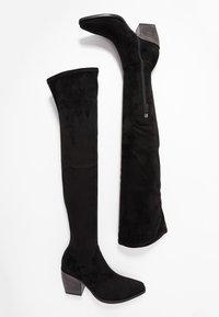 Kennel + Schmenger - LUNA - Over-the-knee boots - black - 3