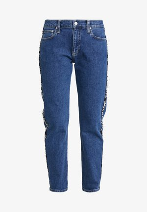 MID RISE BOY - Relaxed fit jeans - blue denim