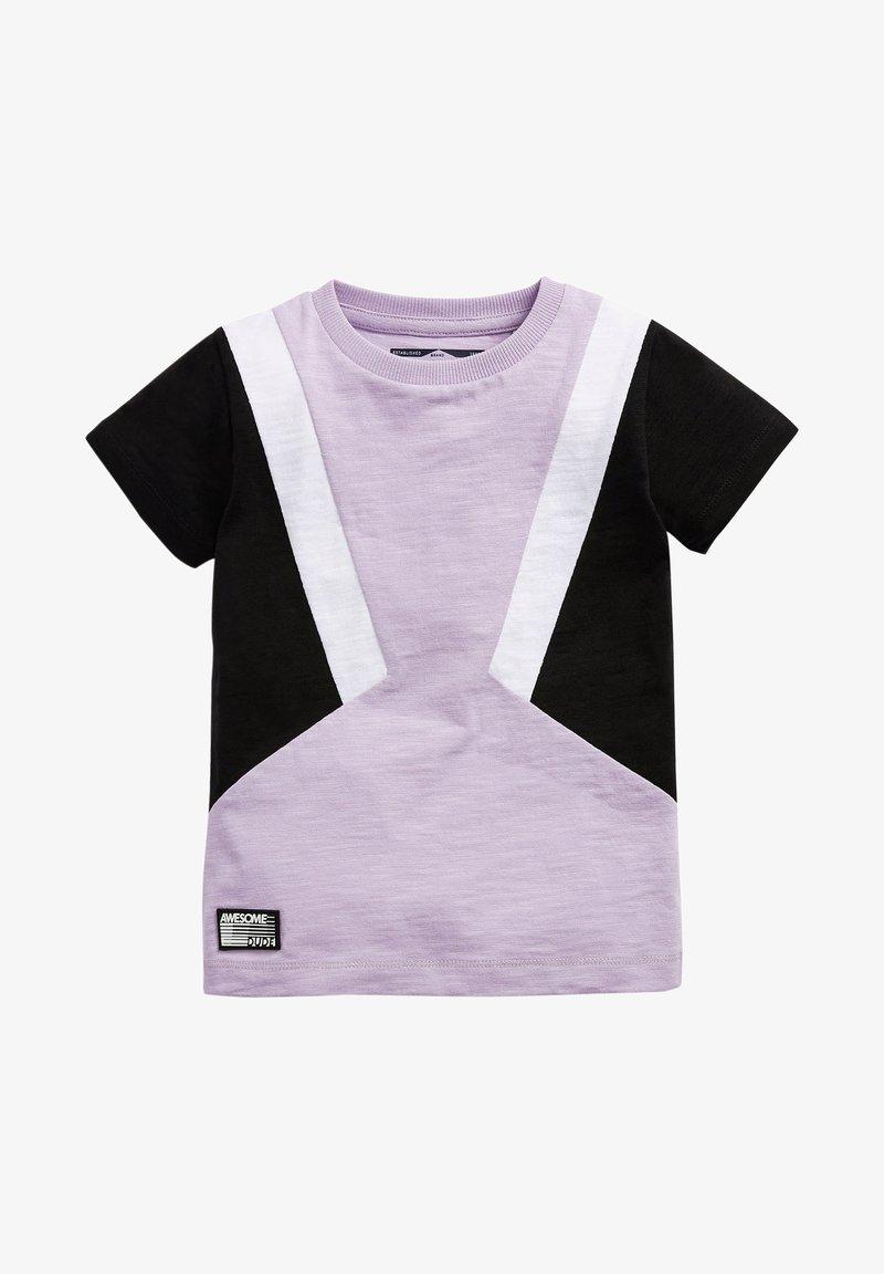 Next - Print T-shirt - lilac