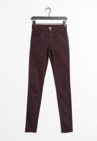 Vila - Jeans Skinny Fit - red - 0