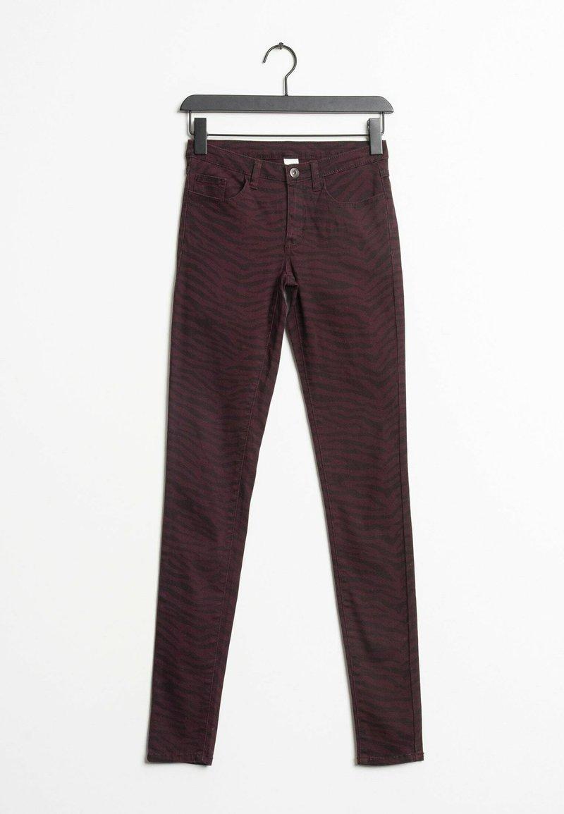 Vila - Jeans Skinny Fit - red