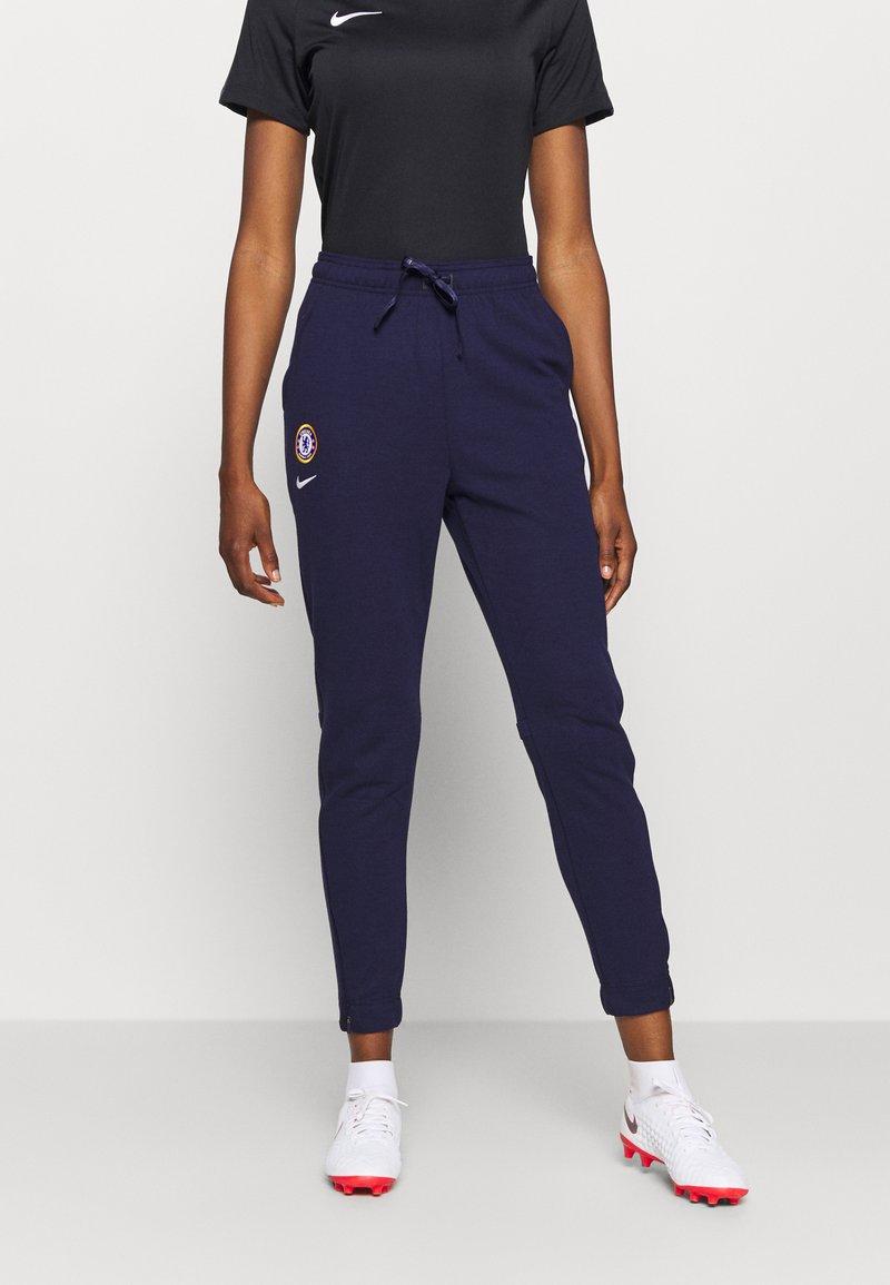 Nike Performance - CHELSEA LONDON DRY PANT - Club wear - blackened blue/white