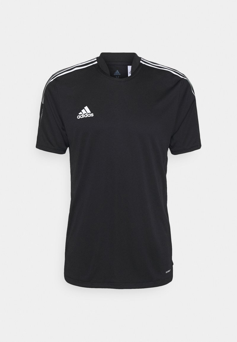 adidas Performance - TIRO WORD  - T-shirt med print - black