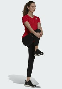 adidas Performance - HEAT RDY TEE - T-shirts med print - red - 1