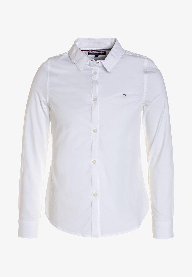 Tommy Hilfiger - GIRLS - Skjortebluser - bright white