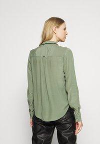Guess - MONA - Button-down blouse - light green - 2