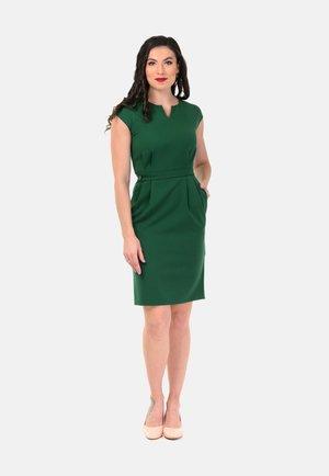 Etui-jurk - green