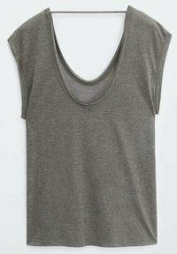 Massimo Dutti - T-shirt basique - grey - 1