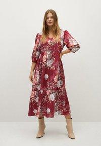 Violeta by Mango - RUG - Day dress - grenat - 1