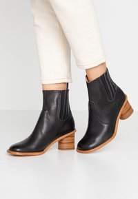 Neosens - DEBINA - Korte laarzen - black - 0