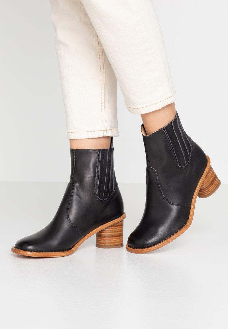 Neosens - DEBINA - Korte laarzen - black