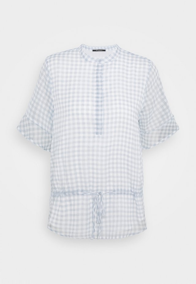 CHECKS BEATRICE - Bluse - blue mist