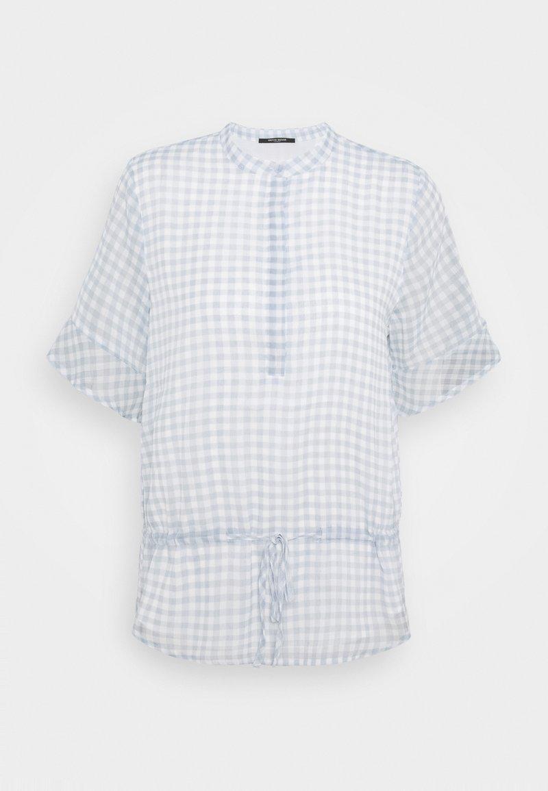 Bruuns Bazaar - CHECKS BEATRICE - Blouse - blue mist