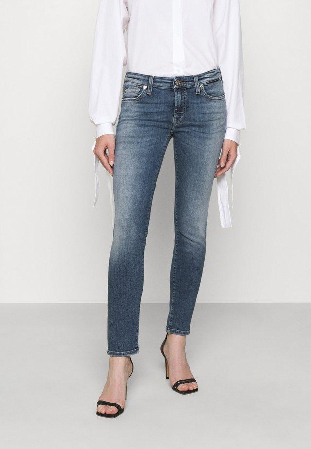 PYPER CROP SLIILLBEY - Jeans Skinny - light blue