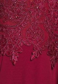Luxuar Fashion - Společenské šaty - bordeaux - 6