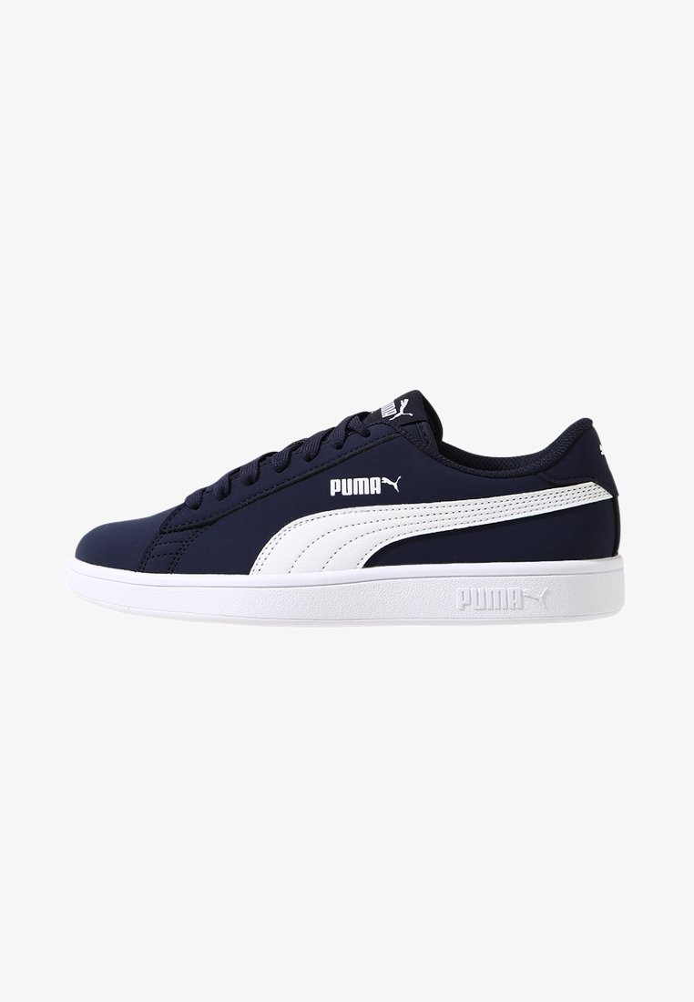 Puma - SMASH  - Baskets basses - peacoat/white