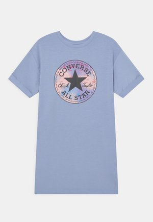 SHORT SLEEVE CHUCK PATCH  - Vestito estivo - blue heron