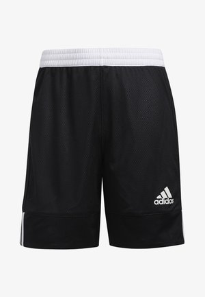 3G SPEED REVERSIBLE SHORTS - Urheilushortsit - black/white