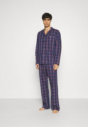 TARTAN CHECK GIFTBOX SET - Pyjamas - marine