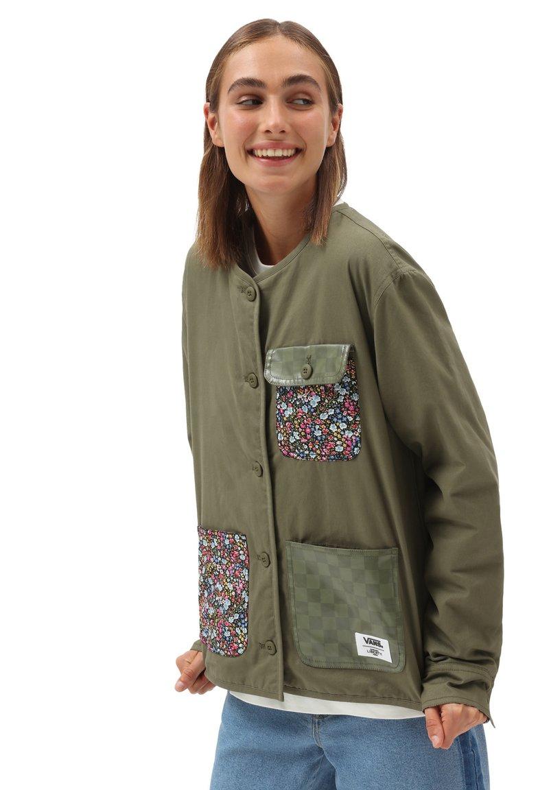 Vans - WM VANS MADE WITH LIBERTY FABRIC JACKET - Summer jacket - (liberty fabric)brntolive