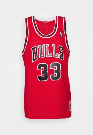 NBA CHICAGO BULLS WOMENS SWINGMAN - Club wear - red