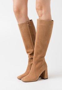 Bianca Di - High heeled boots - camel - 0