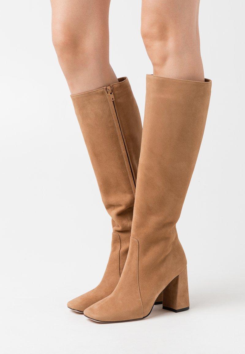 Bianca Di - High heeled boots - camel