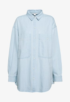 ALLISON - Button-down blouse - blue dusty light