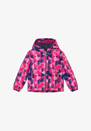 VIEWY - Snowboard jacket - pink/dark blue