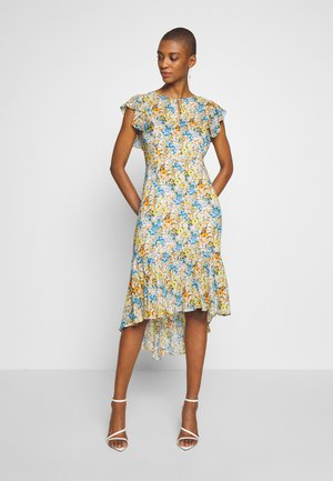 DRESS LONG PRINTED - Day dress - white