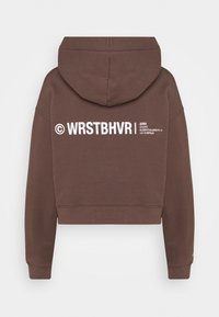 WRSTBHVR - FAITH HOODIE - Sweatshirt - choc - 1