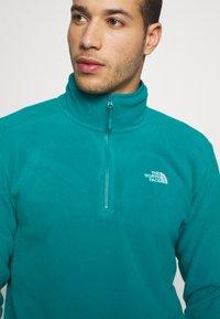 The North Face - MENS GLACIER 1/4 ZIP - Fleece jumper - fanfare green - 4