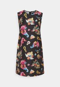Versace Jeans Couture - LADY DRESS - Sukienka letnia - black - 5