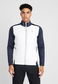 Calvin Klein Golf - HYBRID JACKET - Outdoor jakke - navy/white - 0