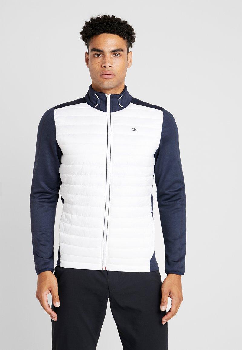 Calvin Klein Golf - HYBRID JACKET - Outdoor jakke - navy/white