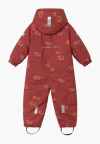 TINYCOTTONS - FOXES SNOW  - Snowsuit - dark brown/sienna - 1